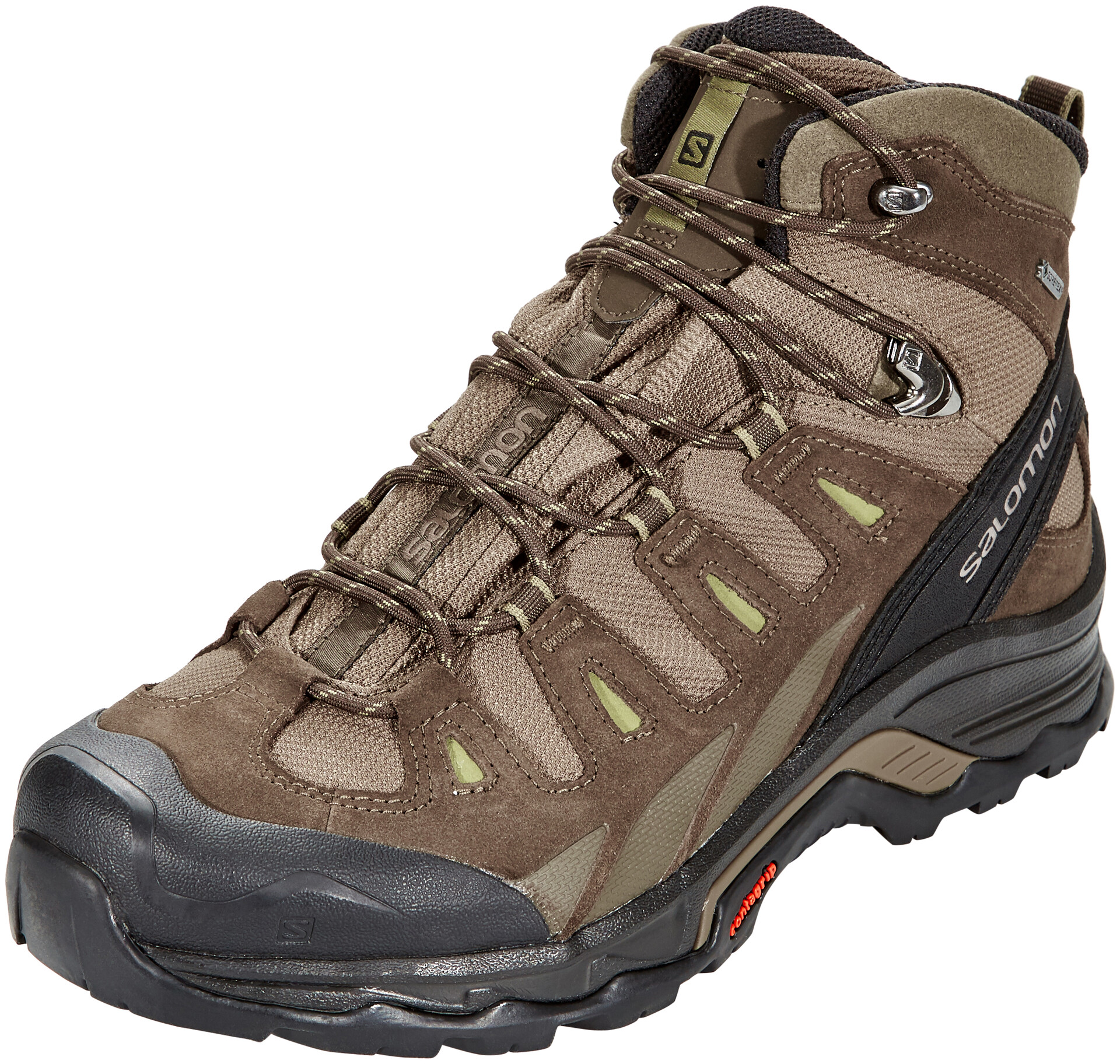Salomon Quest Prime GTX Chaussures Homme, canteenwrenmartini olive